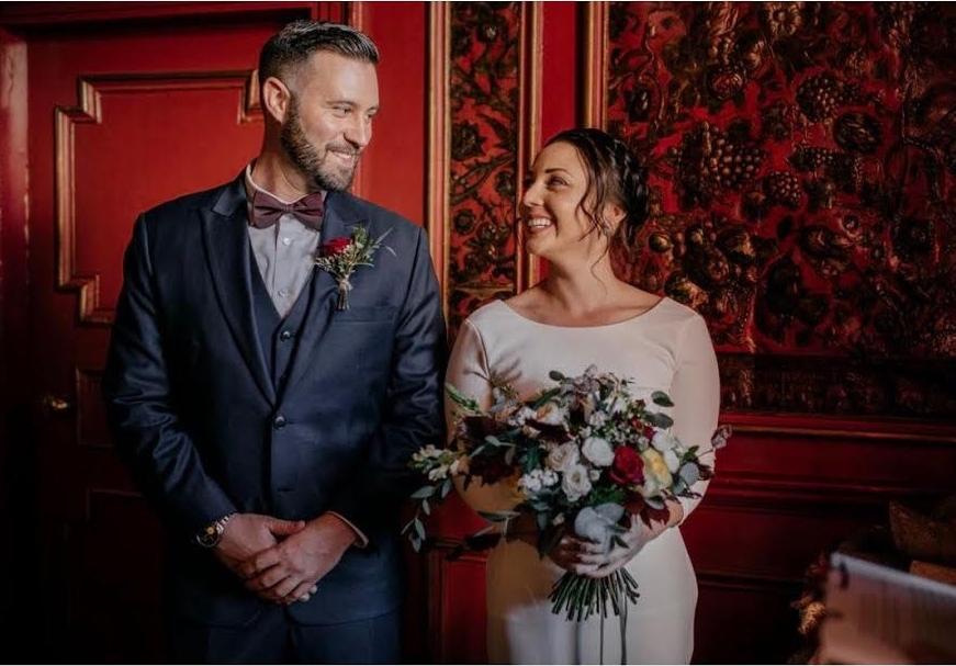 Gorgeous Elopement Ceremony in Scotland by Wedding Celebrant, Onie Tibbitt.